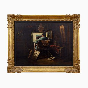 The Painter At Work de Jos Impens