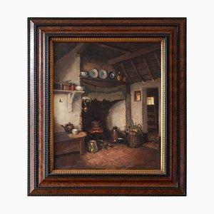 Bauernhaus Interieur mit Kamin von Hendrik-Jan Neuland