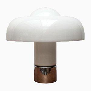 Mid-Century Italian Space Age Early Brumbry Table Lamp by Luigi Massoni for Harvey Guzzini