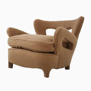 Vintage Italian Lounge Chairs by Carlo Enrico Rava, Set of 2, 1940s