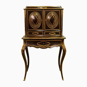 Small French Antique Secretaire