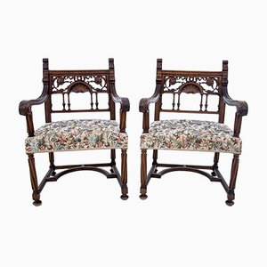 French Armchairs, Circa 1880, Set of 2