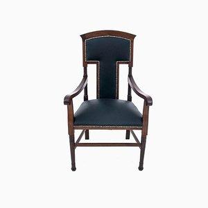 Restored Western European Armchair, Circa 1910