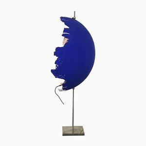 Blaue Modell Postkrisi T 40 Tischlampe von Cattellani & Smith, 2000er