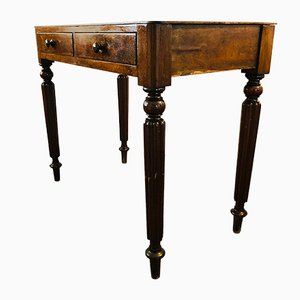 Antique Regency Mahogany Side Table, 1820s