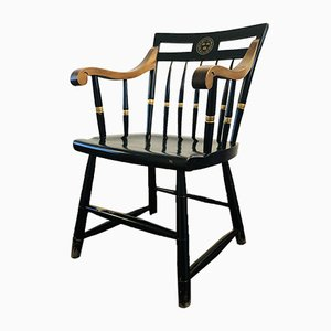 Vintage Harvard University Windsor Chair from Nichols & Stone, 1950s