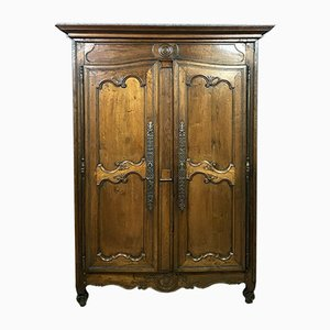 French Louis XV Walnut Wardrobe, 1750