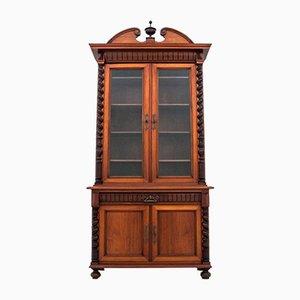 Restauriertes Bücherregal, spätes 19. Jahrhundert