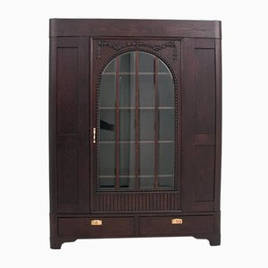 Restored Interwar Period Art Nouveau Bookcase, 1920s