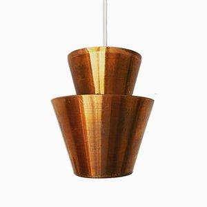 Lampe à Suspension en Cuivre, 1960s