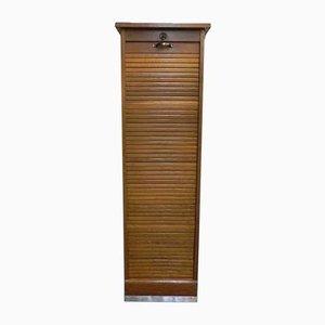 Oak Roller Shutter Box, 1950s