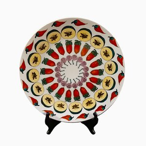 Model Carousel of Fruit Plate by Piero Fornasetti for Atelier Fornasetti
