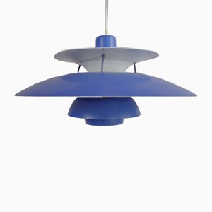 Lampada da soffitto PH5 Mid-Century di Poul Henningsen per Louis Poulsen, Danimarca