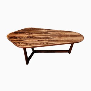 Scandinavian Rosewood Coffee Table by Arne Vodder, 1950s