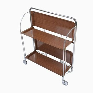 Mid-Century Foldable Bar Cart, 1960s