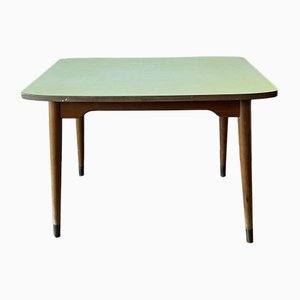 Mid-Century British Yellow Formica Dining Table