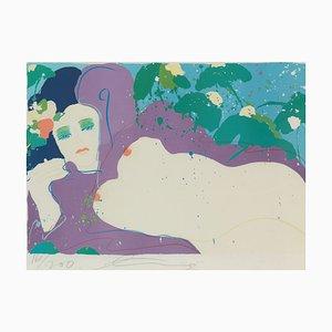 Walasse Ting, 1929-2010, Night, Lithograph