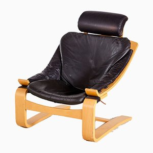 Swedish Kroken Lounge Chair by Åke Fribyter for Nelo Möbel, 1970s