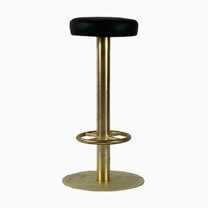 Taburete de bar Bauhaus de acero tubular