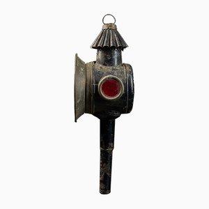 Antique Brass Chariot Lantern