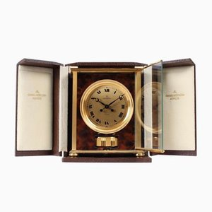 Atmos Elysee Clock with Original Box by Jaeger LeCoultre, 1977