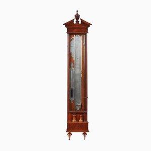 Antique Dutch Mahogany Barometer, 1850s