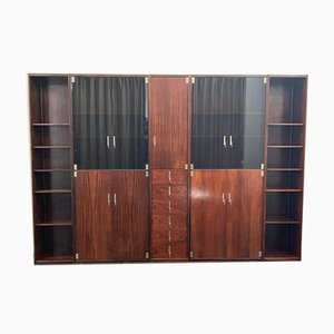 Rosewood Shelf by Vittorio Introini for Saporiti Italia, 1970s