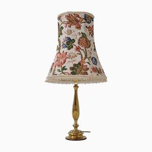 Antike englische Tischlampe aus Messing