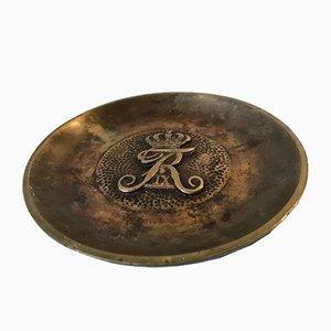 Art Deco Bronze Dish, 1940s
