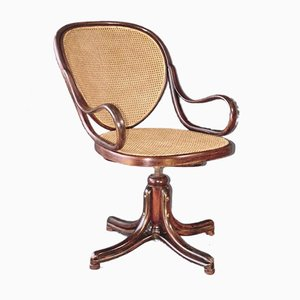 Vintage Bentwood No. 1 Swivel Chair by Michael Thonet for Gebrüder Thonet Vienna GmbH