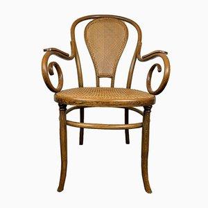 Antique Bentwood Armchair from Fischel, 1920