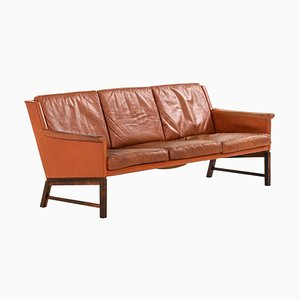 Sofa von Kai Lyngfeldt Larsen für Søborg Furniture, Dänemark