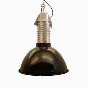 Lámpara colgante industrial vintage de Philips, años 60