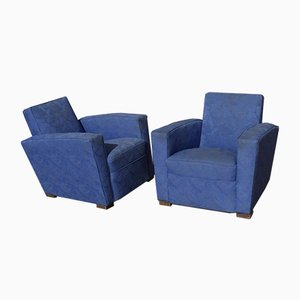 Armchairs by Jacques Adnet, Set of 2