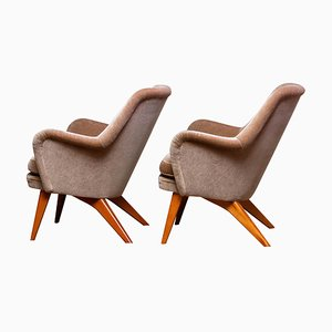 Pedro Chairs by Carl Gustav Hiort AF Ornäs, Finland, 1950s, Set of 2