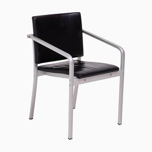 A901 PF Aluminum and Leather Dining Chair by Norman Foster for Thonet, 1999