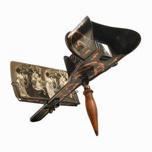 Stereoscope and Photographs Set