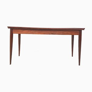 Large Extendable Rosewood Veneer Dining Table, 1960s