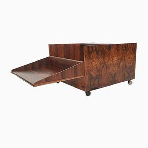 Mid-Century Rosewood Trolley, 1970s