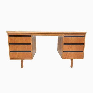 Dutch Oak Desk from Eeka, 1970s