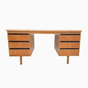 Niederländischer Schreibtisch aus Eiche von Eeka, 1970er