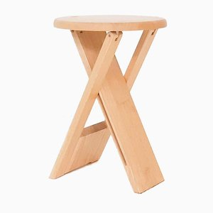 Blond Suzy Folding Stool by Adrian Reed for Princes Design Works, 1980s