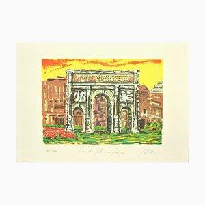 Marco Orsi, Roman Arch, Screen Print, 1980s