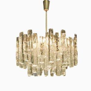 Hängelampe aus Glas mit 18 Leuchten von Kalmar
