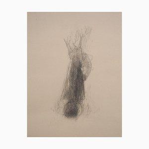 Andrea Fogli, Tree and Moon, Pencil on Paper, 2006