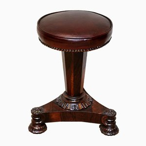 William IV Style Rosewood Piano Stool