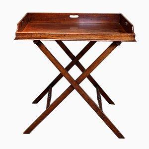 Late 19th Century Mahogany Butler's Tray