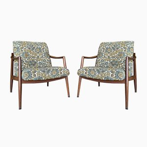 Vintage Teak Lounge Chairs, 1960s, Set of 2