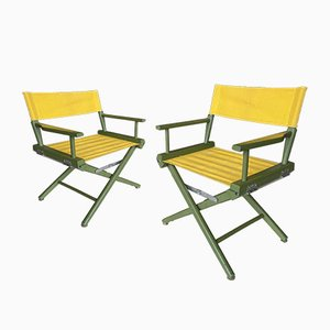 Herlag Director Chairs, 1950s, Set of 2