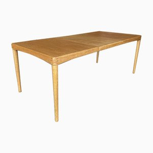 Table en Chêne par HW Klein, Danemark, 1960s